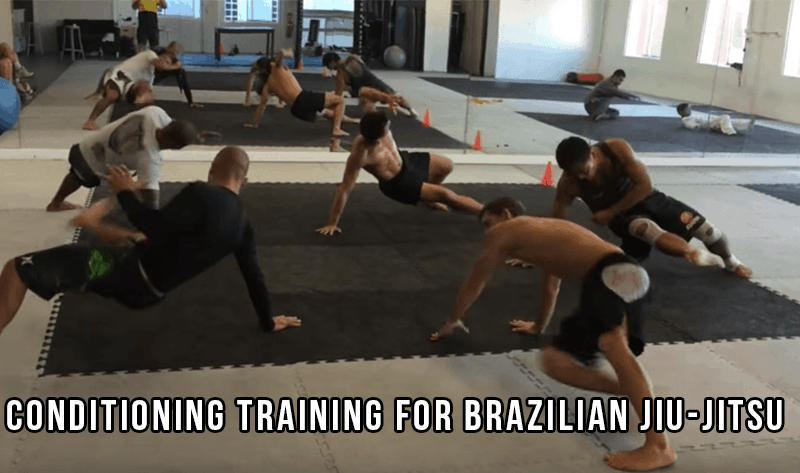Conditioning for Brazilian Jiu-Jitsu