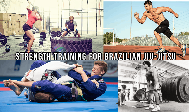 Strength Training For Brazilian Jiu-Jitsu