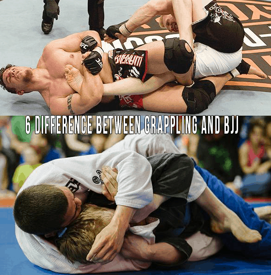 The Top 6 Differences Between BJJ And Submission Wrestling