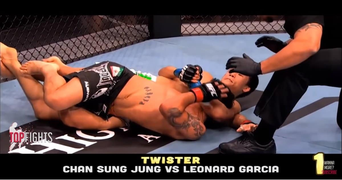 20 Rare Submissions in MMA