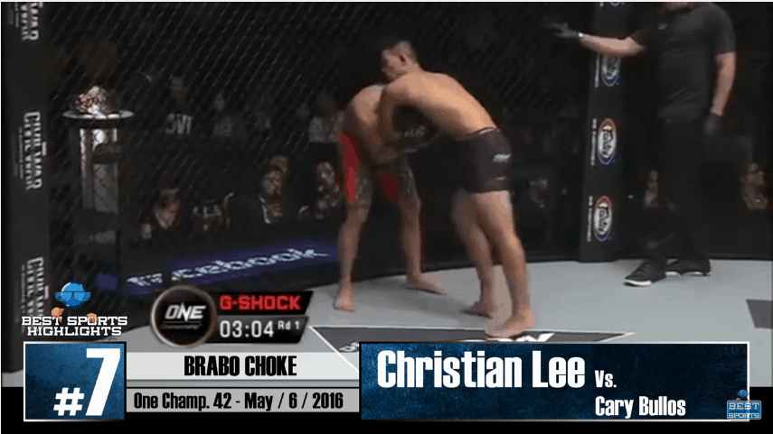 The Greatest MMA Submissions in 2016