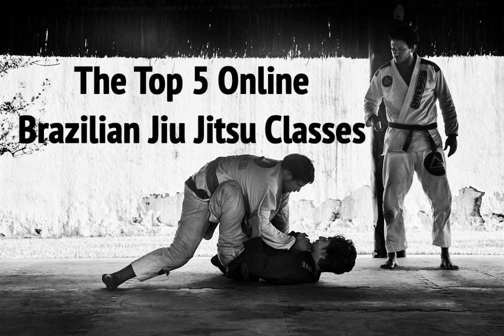 5 Online Brazilian Jiu Jitsu Classes