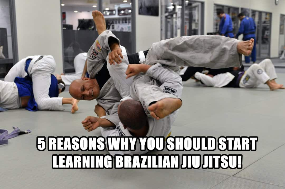 5 Reasons Why You Should Start Learning Brazilian Jiu-Jitsu