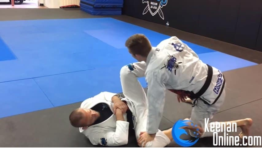 The Most Basic but Most Powerful Pass in Jiu-jitsu
