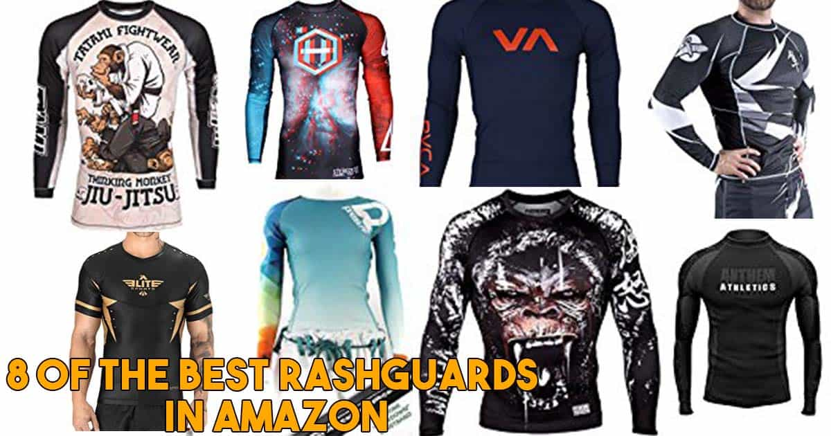 8 of the best BJJ rash guards