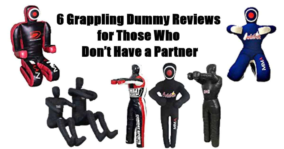 6 Grappling Dummy Reviews for Those Who Don't Have a Partner