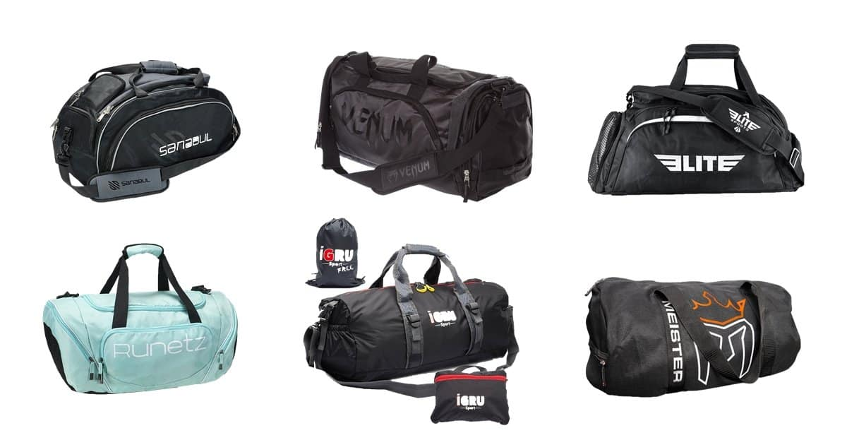 6 of The Best Gym Bags For MMA or BJJ