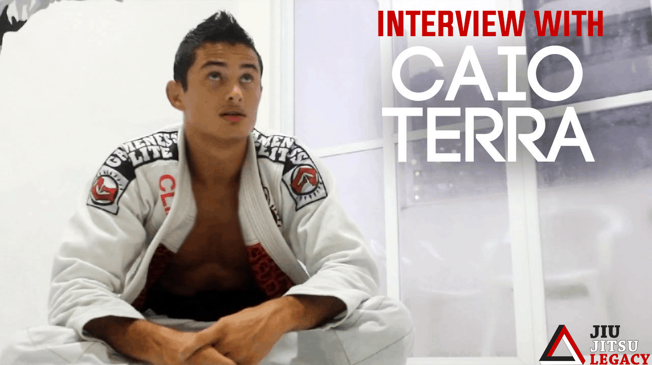 Interview with Caio Terra –  Never forget you love jiujitsu because it's fun !!
