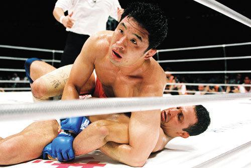 "Sakuraba ""Gracie hunter"" vs. Renzo Gracie at ONE Championship"