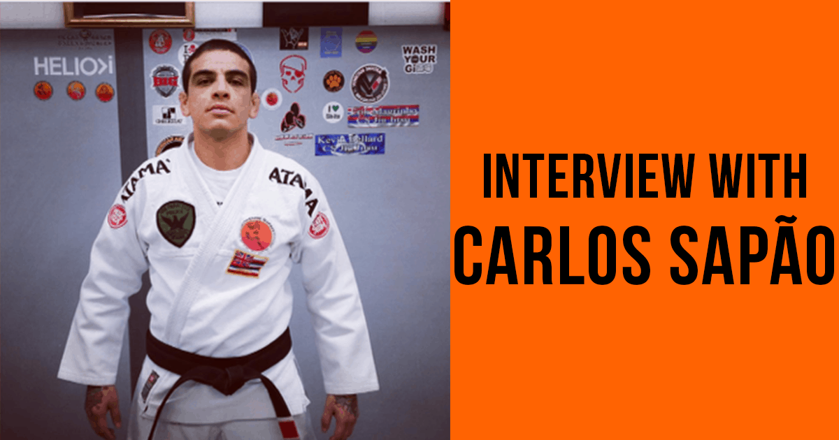 "Carlos Sapão Interview – ""Be flexible in the body and in the mind"""