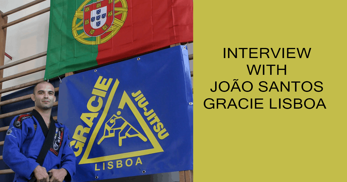 Interview with João Santos – Gracie Lisboa