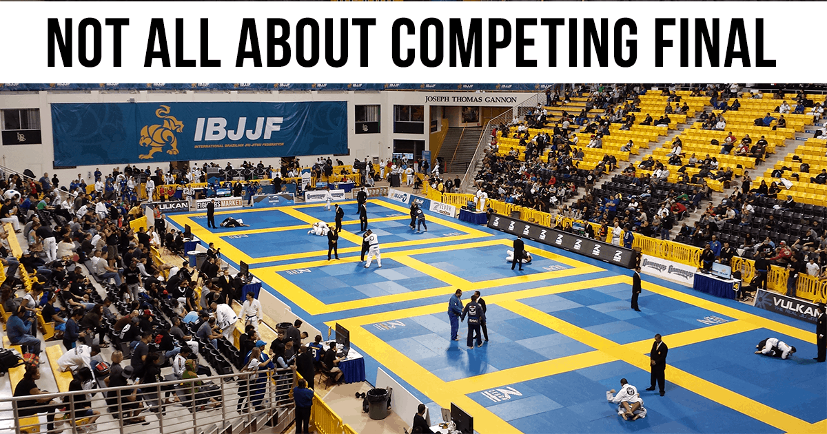 Not all about Competing Final