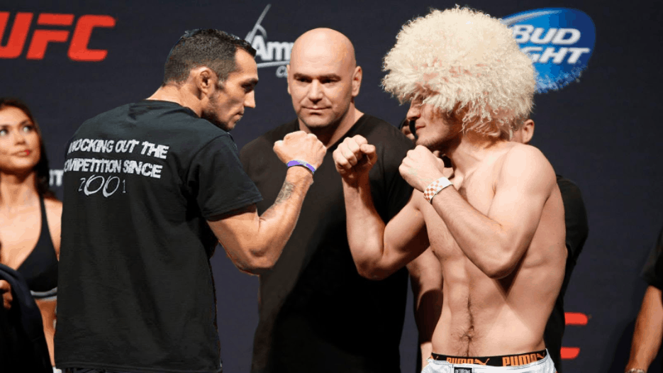 Nurmagomedov vs. Ferguson at UFC 223