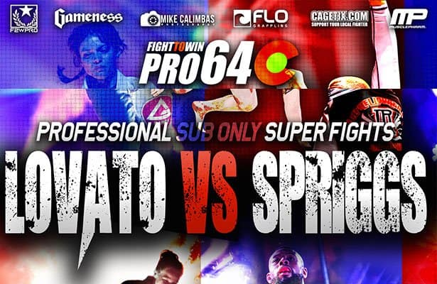 Rafael Lovato Jr. vs Tim Spriggs at F2W Pro 64