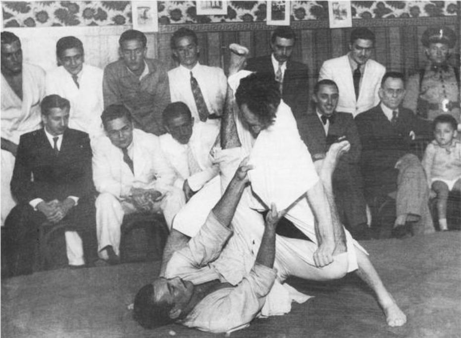 Early days in Brazilian Jiu Jitsu 2 Early days in Brazilian Jiu Jitsu