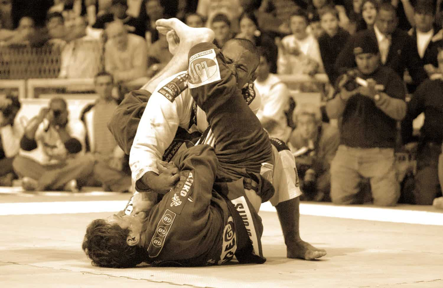 Closed Guard Arm Lock Finish
