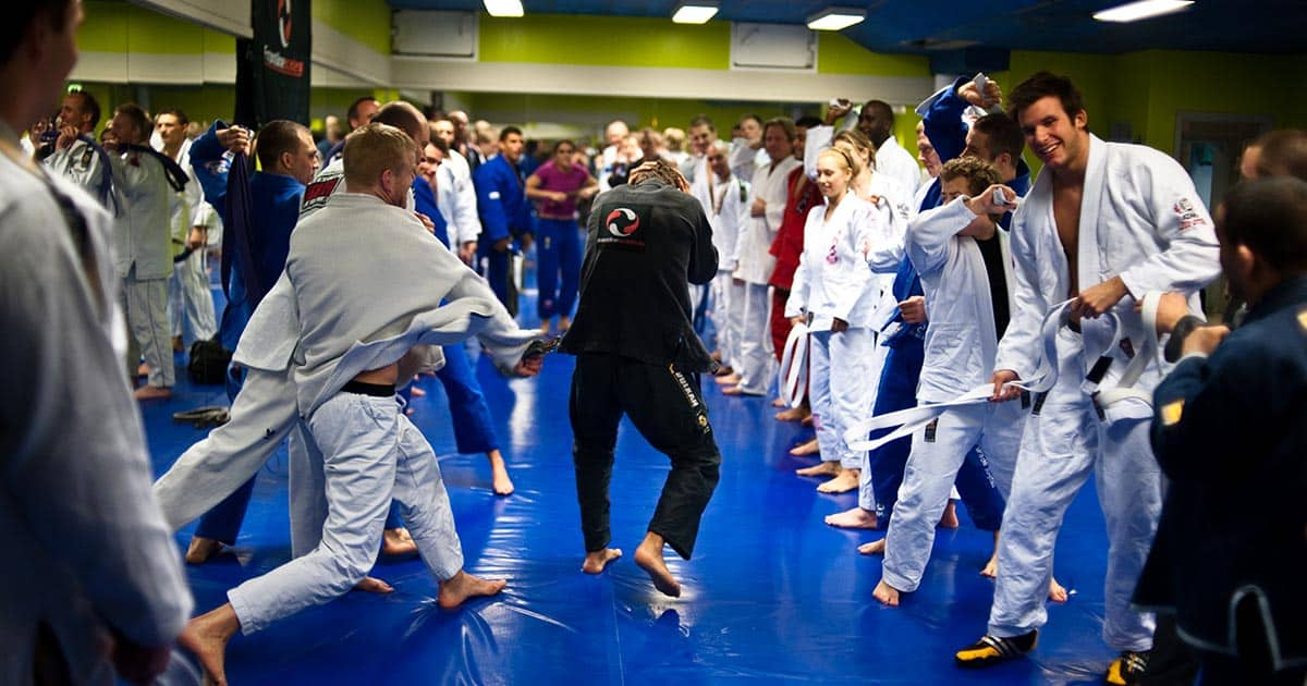 Belt whipping in bjj