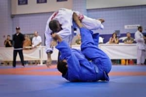 wearing gi helps you to utilize judo techniques
