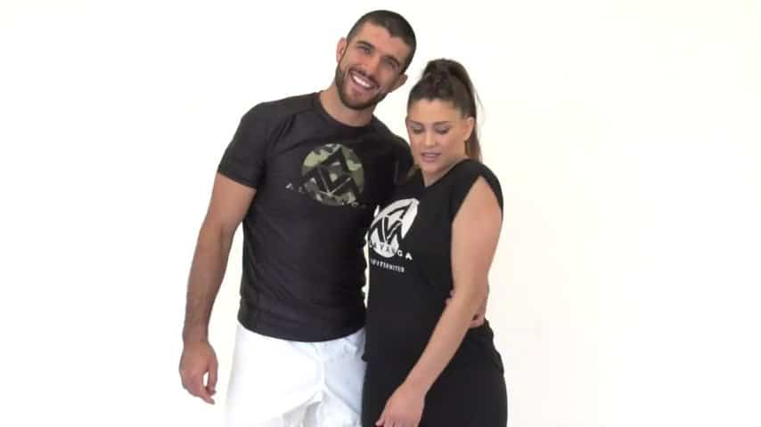 Eve and Rener Gracie Demonstrate 6 Creepy Hug Defenses for EVERY Woman