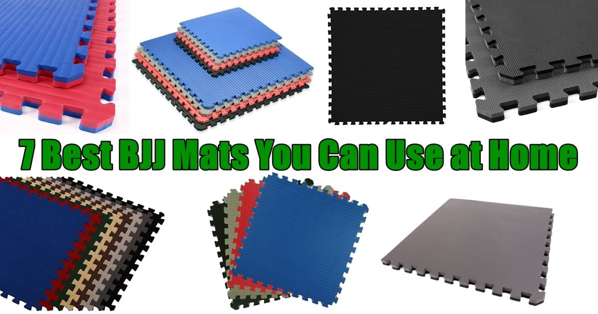 7 Best BJJ Mats You Can Use at Home