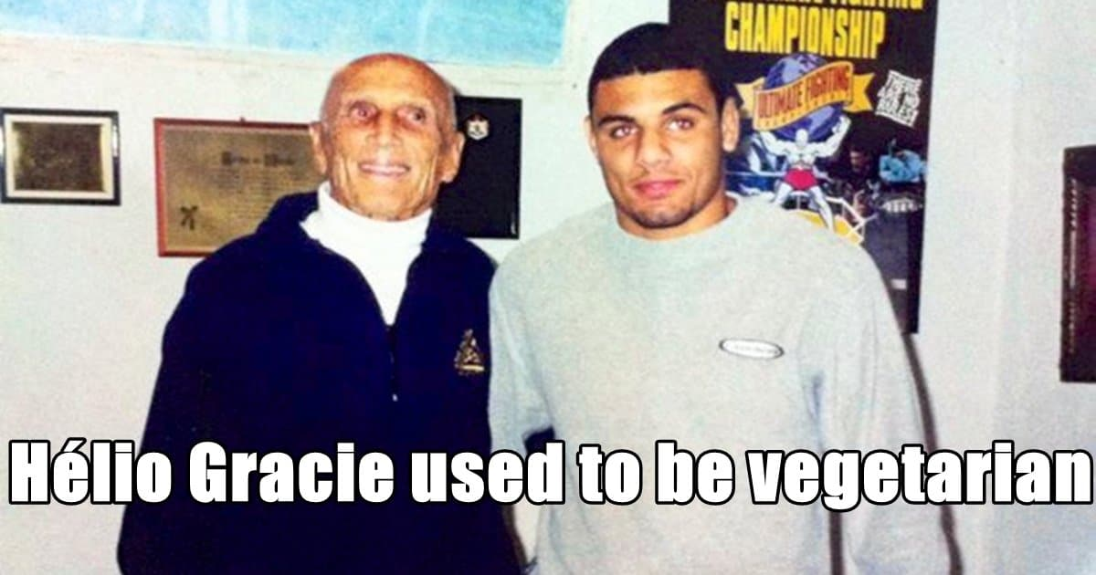 Hélio Gracie Used to Be Vegetarian