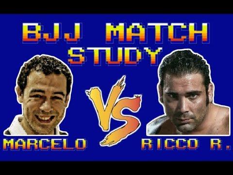 BJJ Match Study: Marcelo Garcia vs Ricco Rodriguez