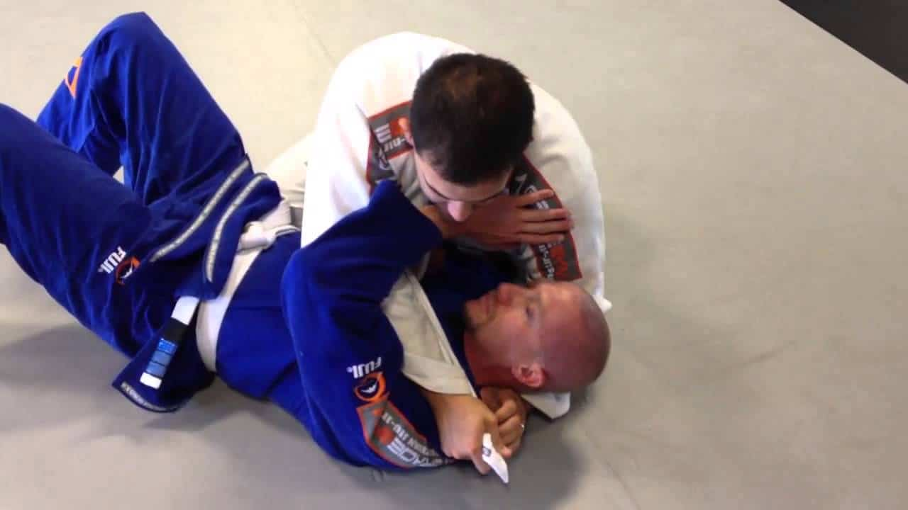 Ninja choke by invisible jiu jitsu