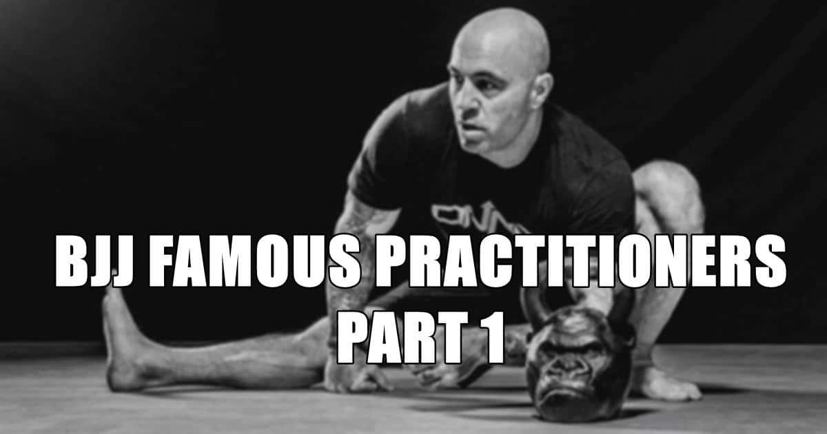 BJJ Famous Practitioners Part 1