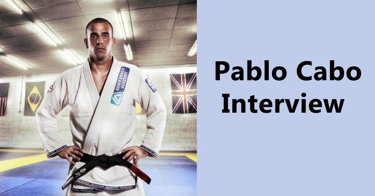 Pablo Cabo Interview – Main advice is to stick to the values of Jiu Jitsu
