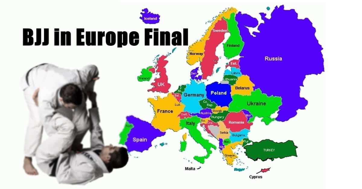 BJJ in Europe
