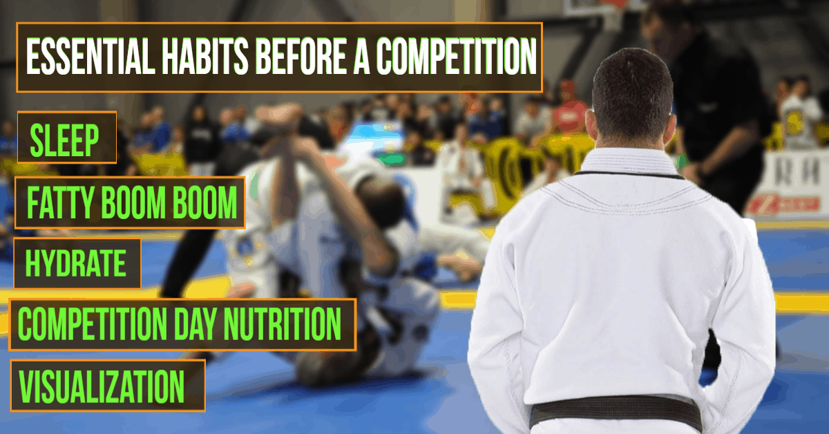 Essential Habits Before a Competition