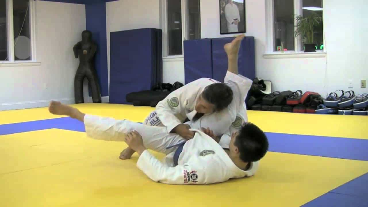 The Gracie Gift Leg on Shoulder Pass (With the Missing Details)