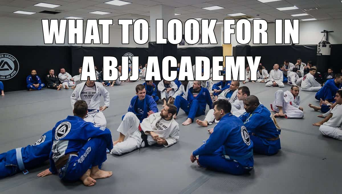 What to Look for in a BJJ Academy