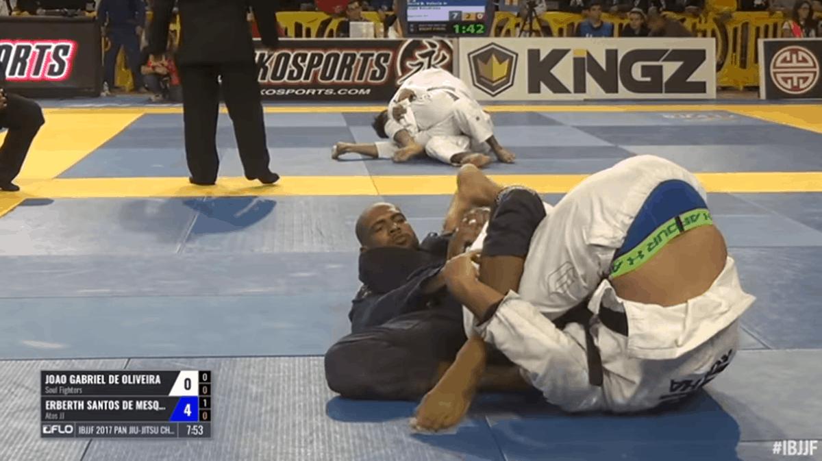 Joao Gabriel vs Erberth Santos / Pan Championship 2017