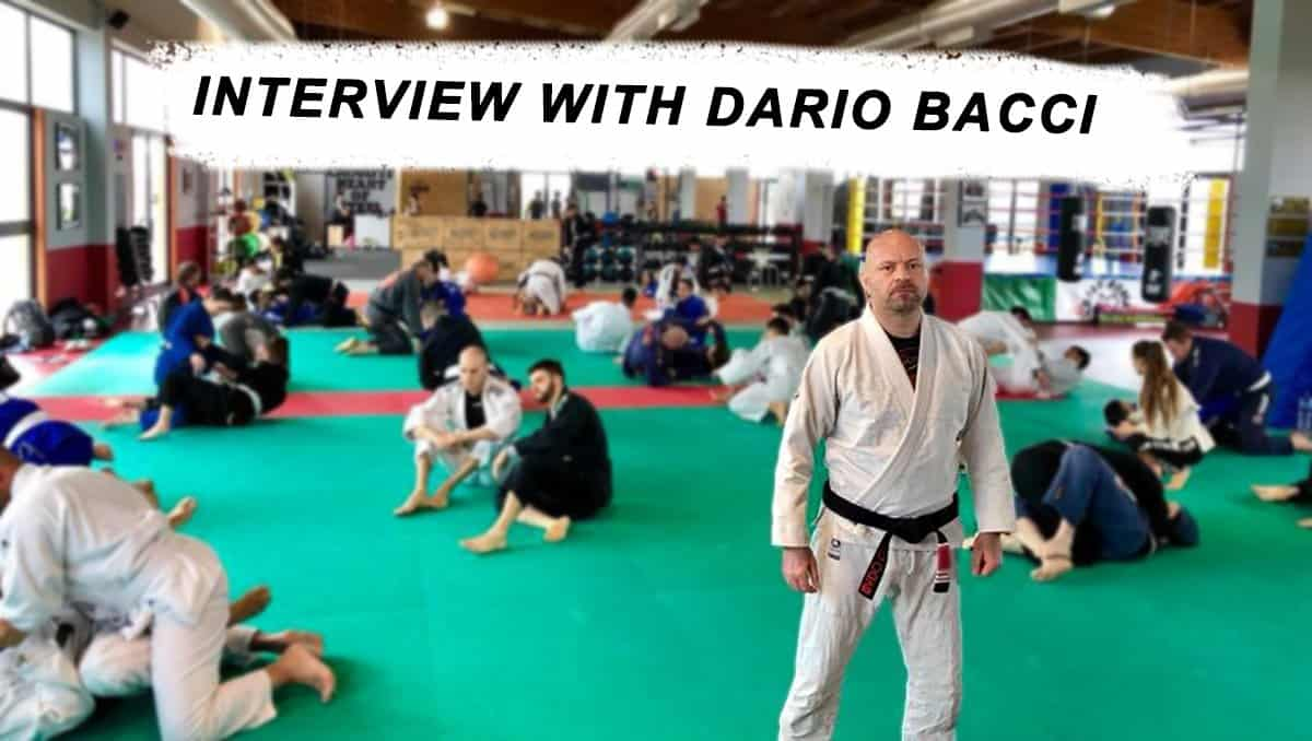 Interview With Dario Bacci – Jiu-Jitsu Besides Being my Passion, Became my Job