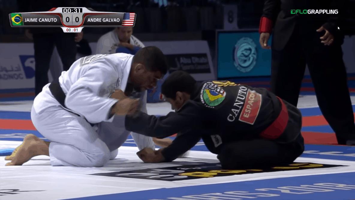 Andre Galvao vs Jaime Canuto – Abu Dhabi World Pro 2018