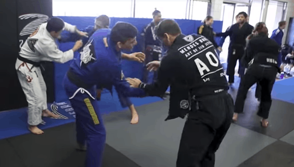 The Atos Jiu-Jitsu training camp in San Diego