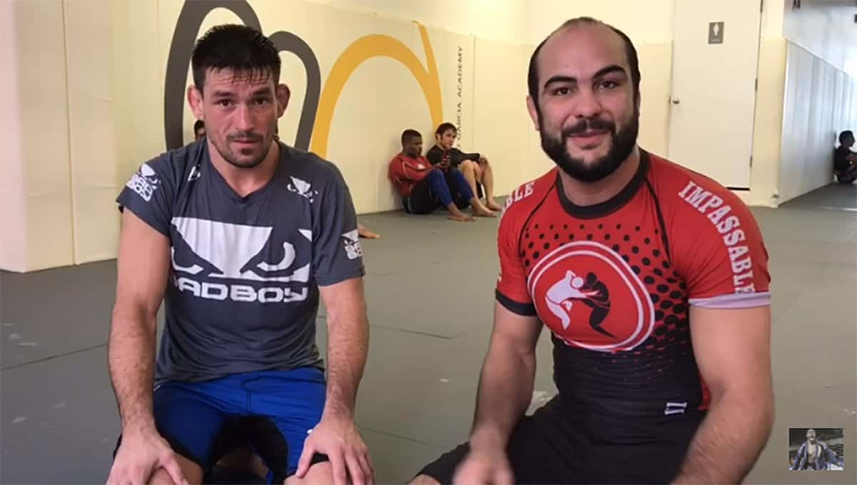 Demian Maia Magic: How To Do An Armbar From Side Control