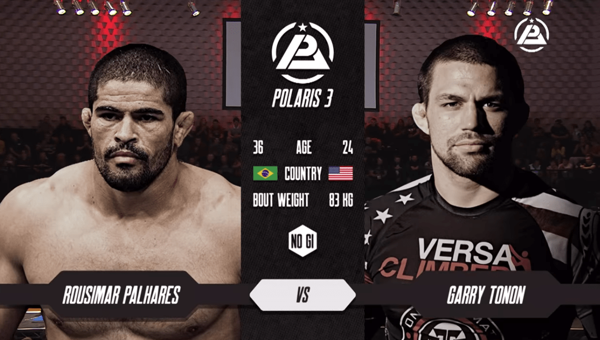 Garry Tonon vs Rousimar Palhares – Polaris 3