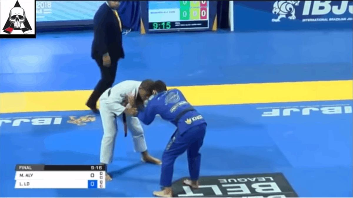 Mahamed Aly – Leandro Lo – Mundial de Jiu Jitsu 2018