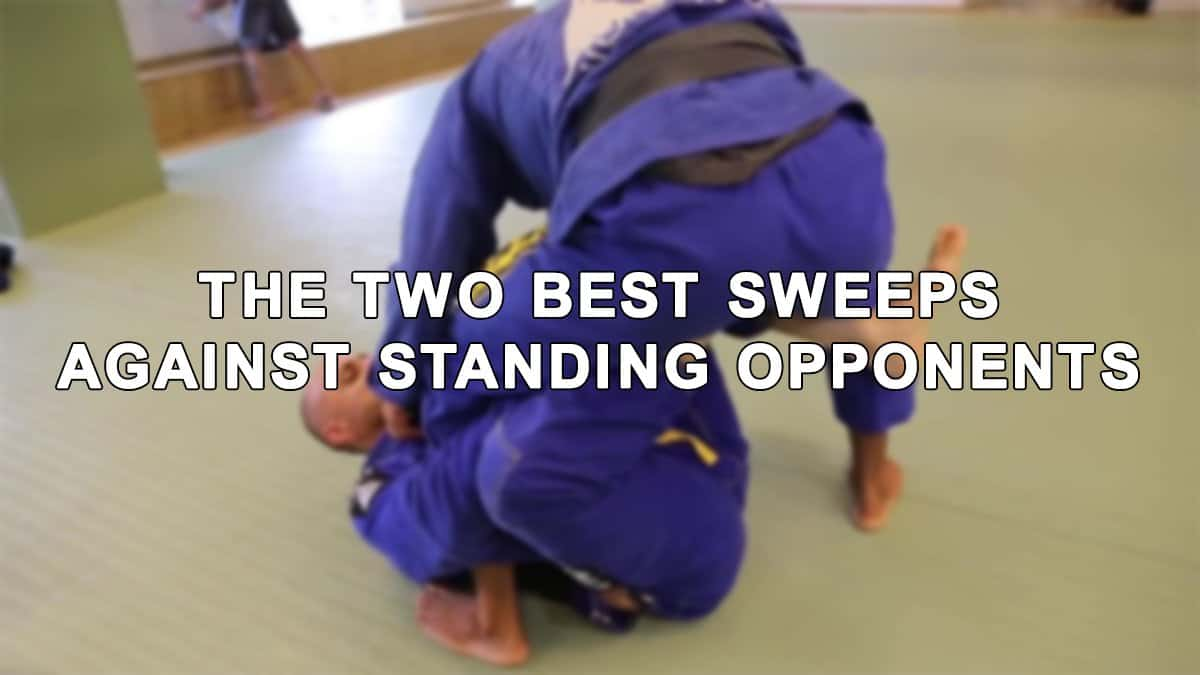 The Two Best Sweeps Against Standing Opponents