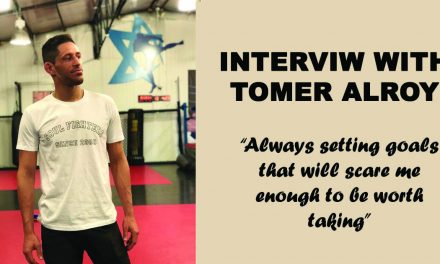 "Interview with Tomer Alroy – ""Always setting goals that will scare me enough to be worth taking."""