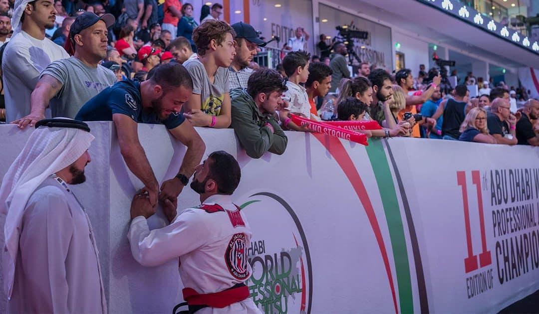 Huge Crowds At Abu Dhabi World Masters Jiu-Jitsu Championship 2019