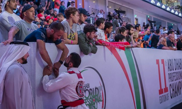 Huge Crowds At Abu Dhabi World Masters Jiu-Jitsu Championship 2019