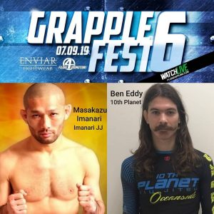 Grappler Adult Masakazu Imanari Ben Eddy