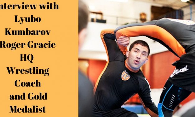 Lyubo Kumbarov – Roger Gracie HQ Wrestling Coach and Gold Medalist