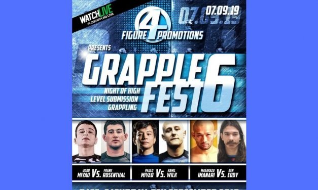GrappleFest 6 this Weekend – Full draw Card