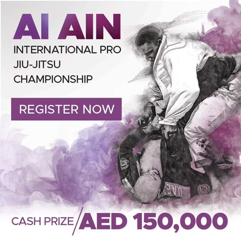 Al Ain International pro championship events uaejjf