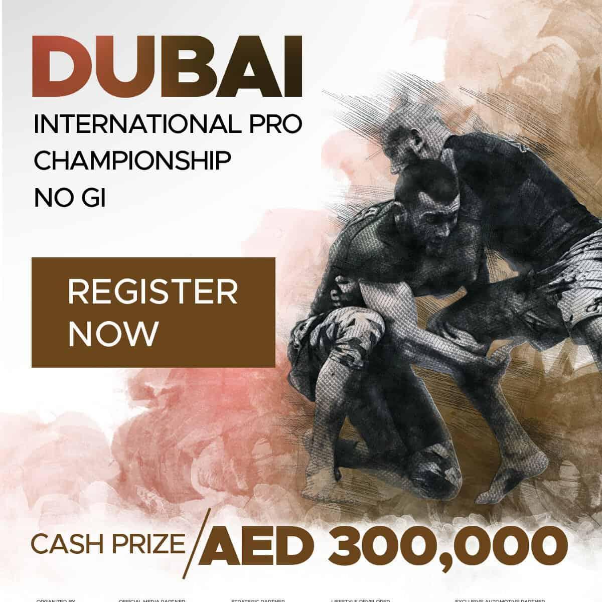 Dubai international pro championship no gi uaejjf
