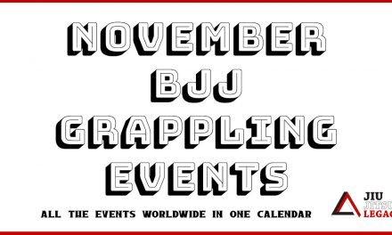 November – BJJ / Grappling Competition Calendar